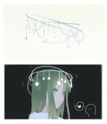 【MMDアクセサリ配布】 星のヘッドドレス