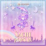 [GIFアニメ]Sachi pops in