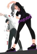 蘭子と武内Pの準備体操