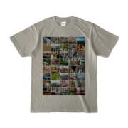 Tシャツ シルバーグレー Forty_7_Colors