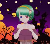 ハロウィン風イラスト2020