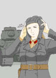 赤軍機甲少尉とIS戦車