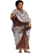 古代ギリシャ時代の野獣先輩 透過素材