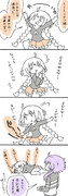 【漫画】ご飯が楽しみなあかりちゃん
