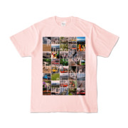 Tシャツ ライトピンク Forty_7_Colors