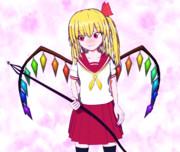 【Blender】フランちゃん(制服)【東方】