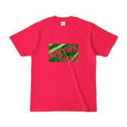 Tシャツ ホットピンク NEW_YORK_GARDEN