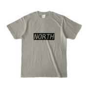 Tシャツ シルバーグレー near_NORTH
