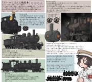 7だいの知波単機関車