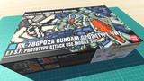ガンダム試作2号機 重武装仕様 / 16色ドット絵ガンプラ箱絵風3D