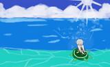 旅立ったアドルさんを追って大海原へと漕ぎ出したイーシャ嬢