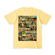 Tシャツ ライトイエロー Forty_7_Colors
