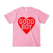 Tシャツ ピーチ GOOD_BOY_HEART