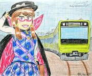 菫子「あれが山手線の新型車両か…!」