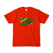 Tシャツ レッド NEW_YORK_GARDEN