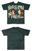 Tシャツ フルグラフィック GREEN PEAカニ