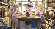 魔女たちのお茶会