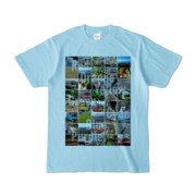 Tシャツ ライトブルー Forty_7_Colors