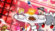 恋のホットチョコレートカップ