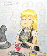 魔理沙「栗ごはんうんめーーー!!!」【通常版】