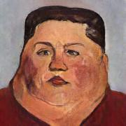肥満正恩の肖像画