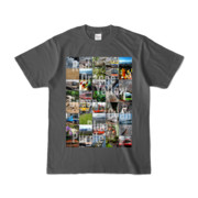 Tシャツ チャコール Forty_7_Colors