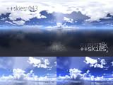[HDR形式あり] ++skies; 043 [16k8k~8k4kスカイドーム素材配布]
