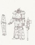 空間支援型機甲騎兵-アーティラリーⅡ「自作ロボ」