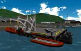 【モデル配布】5m型複合艇MOSACK500&H型ダビット