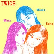 サナ、ミナ、モモ(TWICE)