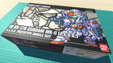 ガンダムMk-II / 16色ドット絵ガンプラ箱絵風3D