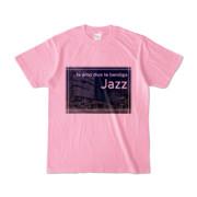 Tシャツ ピーチ Jazz_Night_F