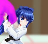 【Twitterのお題】柔道着紫苑ちゃん