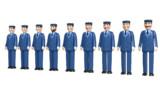 【MMDきかんしゃトーマス】トーマス用鉄道員・作業員セットver2【MMDモデル配布あり】