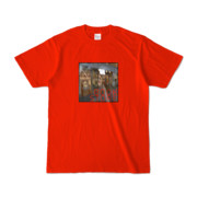 Tシャツ レッド BOOKSTORE_Shinjuku