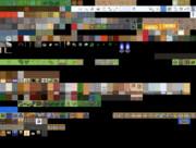 【Elona】金の壁+★《支援絵》が飾られた壁追加【マップチップ】