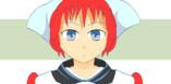GIFアニメ 地雷系サイバー家政婦さん⁅アタッカー⁆