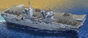 イタリア海軍揚陸艦「トリエステ(L9890)」