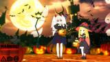 幽鬼うさぎとゴーストリックの魔女のハロウィン/遊戯王MMD