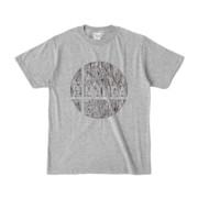 Tシャツ 杢グレー E☆W_BALL