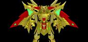 【MMD】黄金神 -再臨- 配布【騎士ガンダム】