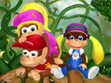 チンパンジーとホバリングゴリラ