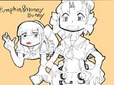 パンプキン&ハニーバニー
