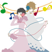 津軽&サイケ/ラクガキ
