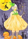 かぼちゃのドレス「ハロウィン」