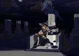 後輩が遺したギターを墓前で弾く奇行に及ぶKG姉貴