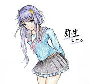 弥生さんとお絵描き練習6