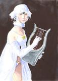 リラを弾くタテゴトアザラシ