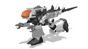 ゴドス高速格闘型試作機