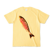 Tシャツ ライトイエロー BANANA_SAKANA